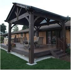 backyards fascinating timber frame pavilion 107 backyard