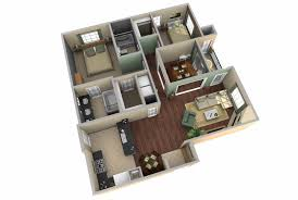 2 bedroom home floor plans 3d two bedroom house layout design plans 22449 interior ideas