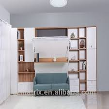 Folding Cing Bed Wall Bed Folding Wall Bed King Bed Wall Unit View