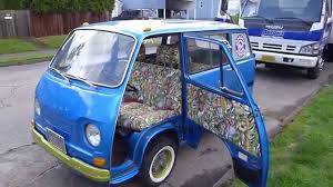 1969 subaru sambar everyone including clowns love a subaru 360 van parade youtube