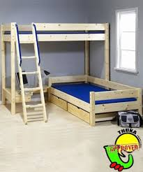 Wooden Loft Bed Design by Best 25 Bunk Bed Plans Ideas On Pinterest Boy Bunk Beds Bunk
