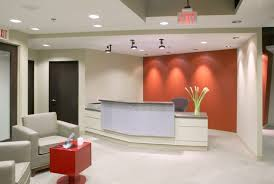 Oval Reception Desk Home Office Modern Office Reception Backdrop Design Curved