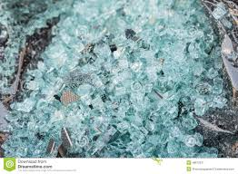Tempered Glass Windows For Sale Shattered Glass Of Back Tempered Window Of A Car Stock Photo