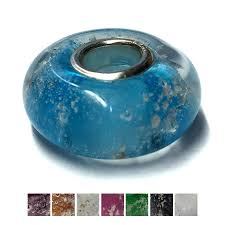 ashes into glass ashes in jewellery glass bead