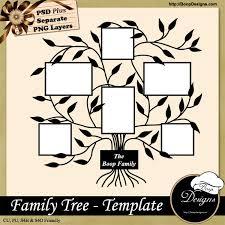 family tree template by boop designs boop 3 99 boop designs