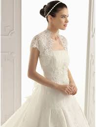 a line lace wedding dress with short sleeves sang maestro