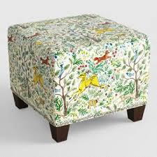 Custom Fabric Ottoman by Bedroom Seating Custom Benches U0026 Ottomans World Market