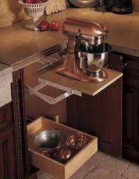 kitchen appliances ideas sleek ideas to keep your kitchen appliances mixers storage