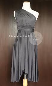slate bridesmaid dress convertible dress infinity dress