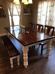 Farm Style Dining Room Sets - dining table farmhouse dining room table sets farm style set 6