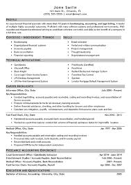 Resume Samples For Accounts Payable by Download Bookkeeper Resume Sample Haadyaooverbayresort Com