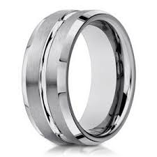 white gold mens wedding band s 14 k white gold wedding band 6mm width