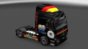 mercedes of germany mercedes germany squad skin mod truck simulator 2 mods