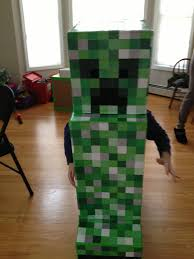 creeper costume happy from minecraft s creeper s busy go ask