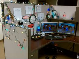 office desk christmas decorations