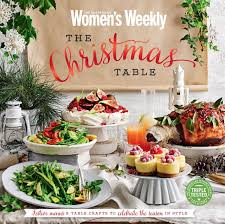 the australian women u0027s weekly christmas table magshop