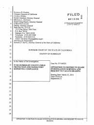 General Power Of Attorney California by California Attorney General Opposition To Motion To Quash Humboldt
