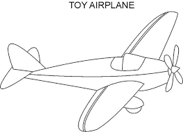 airplane coloring pages toy airplane coloring pages u2013 kids