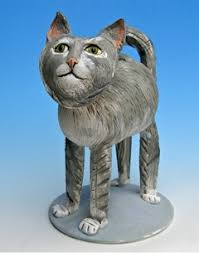 cat cremation sweet grey cat cremation urn gift ideas for