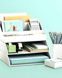 Contemporary Desk Organizers Modern Office Desk Accessories Superfoodbox Me