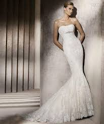 fishtail wedding dress pronovias fishtail wedding dresses local classifieds buy and