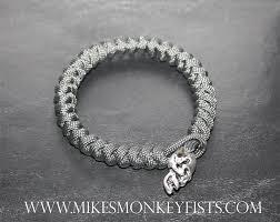 bracelet skull beads images Custom paracord bracelet w large metal skull gif