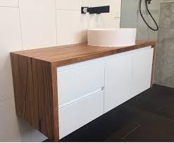 Timber Bathroom Vanity Custom Timber Bathroom Vanity Top Retrograde Furniture