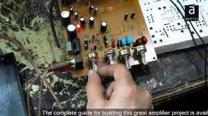 7 1 home theater circuit diagram tda2050 tda2030 based stereo amplifier with bass tone controls