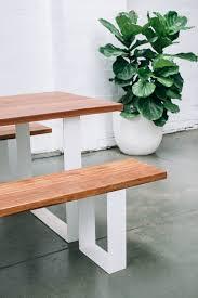 p u0026s garden table benches pop u0026 scott workshop