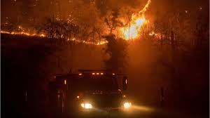 California Wildfire Evacuation Plan by Wildfires Force Evacuation Of Thousands In Central California