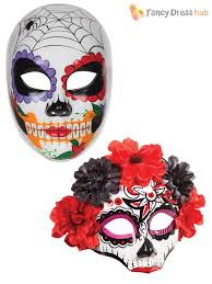 bandit mask halloween woman in halloween makeup mexican santa muerte mask stock photo
