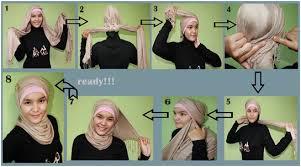 tutorial turban sederhana berikut tutorial hijab untuk kamu yang selalu ingin til