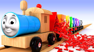 thomas the train learn colors numbers shapes thomas and