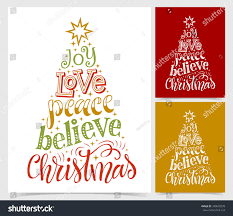 vector illustration paper cards holidays lettering stock vector