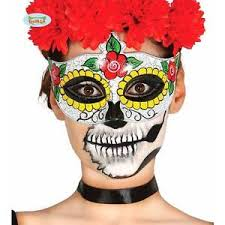 Mexican Halloween Costumes Dead Rose Masquerade Mask Mexican Halloween Ladies