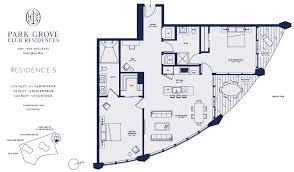 floor plans of park grove condo miami