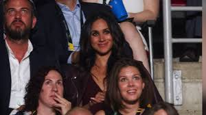 meghan markle spotted at invictus games cnn video