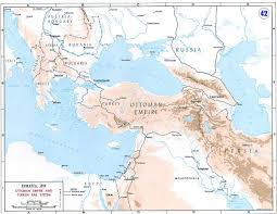 Bosphorus Strait Map Constantinople Agreement World War 1 Live