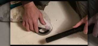 how to remove a fiberglass shower pan construction repair