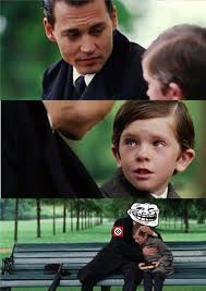 Troll Meme Generator - finding neverland grammar troll inverted blank template imgflip