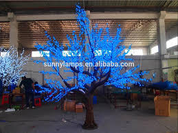 Outdoor Lighted Trees White Led Cherry Blossom Tree Lights White Led Cherry