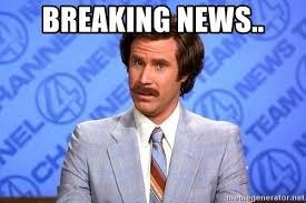 Breaking News Meme - breaking news anchorman will ferrell meme generator