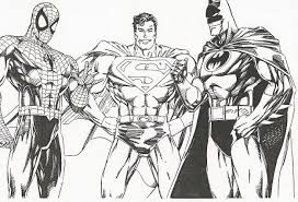 super hero archives coloring pages kids