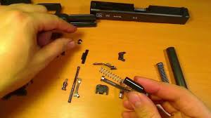 complete glock disassembly and reassembly youtube