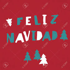 feliz navidad christmas card feliz navidad vector merry christmas card template in