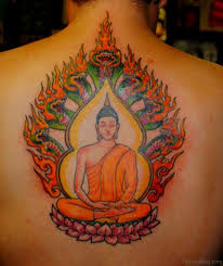 100 red buddha tattoo super buddhist set part 5