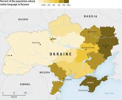 Thematic Maps The Ukraine Three Thematic Maps Of Ukraine