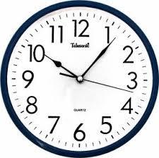 wall watch telesonic wall clocks foter