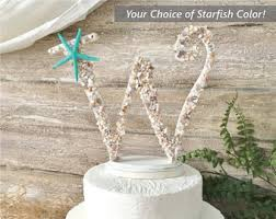 beachy wedding cakes wedding cake etsy