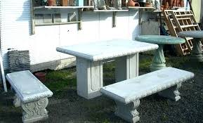 cement table and bench cement table and benches amindi me